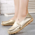 Women Leather Shoes Loafers Soft Flats Female Casual Comfortable Shoes US Size 9
