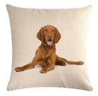 DOG / CAT Cushion Covers! 16 DESIGNS 45cm Puppy Kitten Photo Throw Pillow Gift