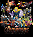 16pc Lot Marvel Super Heroes Avengers Infinity War Action Minifigures Fits Lego