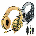 3.5mm Over-Ear Stereo Bass Noise Cancelling Headset w/ Mic for PS4  Xbox One PC