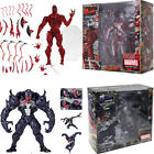 Spider Man Carnage Red Venom No.Revoltech Series PVC Action Figure Toy Xmas Gift