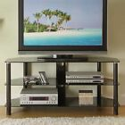 """Brown Cherry 3-in-1 Flat Panel TV Stand for TVs up to 65"""" FREE SHIPPING"""