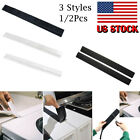 US 2Pcs Silicone Kitchen Stove Counter Gap Cover Oven Guard Spill Seal Fill New
