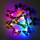 3d Wall Sticker Butterfies Led Night Light Lamp Home Decor For Kids Girls Child