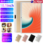 10.1inch Tablet Pc 4gb+64gb Ten-core Android 8.0 Wifi Phablet 13.0mp Camera Lot
