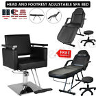 Beauty Salon Massage Bed Tattoo Chair Barber Styling Chair Equipment Adjustable