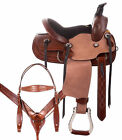 Western Saddle 12 13 Comfy Classic Roping Roper Barrel Racing Kid Horse Tack Set