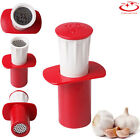 8 Types Ginger Garlic Press Crusher Squeezer Masher Home Kitchen Mincer Tool photo