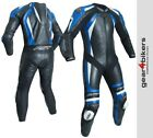 RST Pro CPX-C II 2 1840 One Piece Blue Motorcycle Leather Suit Track Race 1