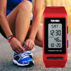 SKMEI Digital Wrist Watches Pedometer Calories Alarm Hour Sport Watch Lady Boy image