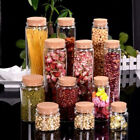 10PCS  Mini Clear Bottle with Cork Stopper Message Bottles Empty Containers