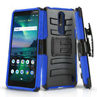 for NOKIA 3.1 PLUS (Cricket), [Refined Series] Phone Case Cover & Holster Clip