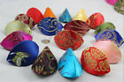 Wholesale Mix Colors Chinese Handmade Silk Jewelry Ring Box Bag Coin Bag Purse