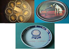 TIN TRAYS ADVERTISING PABST BLUE RIBBON , RCA VICTOR, TOLEWARE PICK ONE