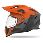 509 Orange/Grey Delta R3 Orange Dirt Bike Helmet with Fidlock Offroad UTV ATV MX