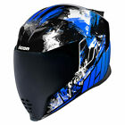 Icon Airflite Stim Motorcycle Helmet Blue