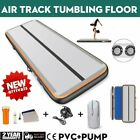 20FT Airtrack Air Track Floor Inflatable Gymnastics Tumbling Mat GYM w/ Pump&Bag image