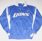 Detroit Lions Track Jacket Men's size Medium Tall, New w/Tag $39.99 USD on eBay