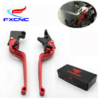 LOGO CNC Camber 3D Curved Brake Clutch Levers ForKawasaki KTM Triumph Yamaha Red $33.29 USD on eBay