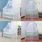 Toddler Bed Mosquito Mesh Dome Curtain Net for Baby Crib Beding Cot Canopy Cover