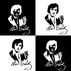 11.3cm x 15.6cm Singer Elvis Presley Autograph Vinyl Decal Car Sticker Black/Sil