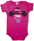 Smooth Industries This Girl Infant MX Romper Pink