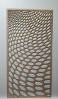 Radiator Cabinet Decorative Screening Perforated 3mm & 6mm thick MDF lasercut3D1