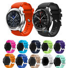 Soft Silicone Wrist Strap Watch Band For Fossil Q Founder 2.0 / Marshal / Wander