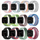 For Fitbit Versa Woven Nylon Loop Strap Bracelet Sport  Replacement Watch Band image