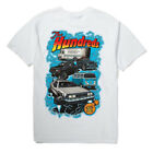 """The Hundreds """"Car Show Off"""" Short Sleeve Tee (White) Men's Graphic T-Shirt"""