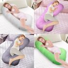 C-shape Pregnancy Pillow Maternity Pregnant Women Belly Contoured Body Pillow Us