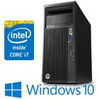 Hp Z230 Tower Pc Intel I7 4770 16g 500g Quadro K600 / Game Gtx1050 Win 10 Pro