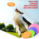 7inch Doggy Flying Catch Throw Frisbee Silicone Pet Dog Disc Toy Training Tool