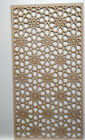 Radiator Cabinet Decorative Screening Perforated 3mm & 6mm thick MDF laser cutM2