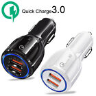 QC3.0 Certified Quick Charge Dual 2 USB Port Fast Car Charger 36W Accessory Code