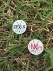 PERSONALIZED MONOGRAMMED GOLF BALL MARKER GOLF ACCESSORY GOLF HAT CLIP