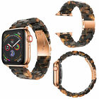 For Apple Watch Series 5 4 3 21 LAVA Volcano Burning Link Watch Band Strap Wrist image