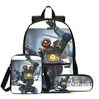 3PCS Games Apex Legends Backpack School Bag Kids Teenager Shoulder Bags Pen Bags