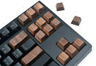 Handmade OEM Black Walnut Solid Wood Keycaps for Cherry MX Mechanical Keyboards