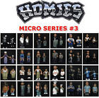 NEW RETIRED RARE HOMIES SERIES 3 1/64 SCALE MICRO FIGURES - YOU PICK THE FIGURE