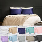 Soft Silky Satin Pillow Cases Great For Hair and Skin With Envelope Closure US image