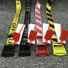 Kyпить Off White Tie Down Yellow Nylon Cotton Big IRON Head Industrial Belt 200CM KD на еВаy.соm