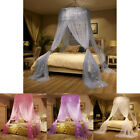 Gorgeous Round Lace Insect Bed Canopy Netting Curtain Dome Mosquito Net All Size image