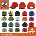 Newhattan  Plain Hat 100% Cotton  Men Women Adjustable Baseball Cap
