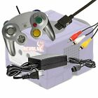 Gamecube Starter Bundle - Controller, Power Adapter, and AV Cable Assorted Color
