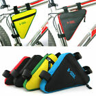 Внешний вид - Bicycle Triangle Frame Front Bag Saddle Panniers Cycling Bike Tube Pouch Holder