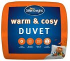 Silentnight Winter Warm and Cosy Duvet Single Double King Super K 15 Tog