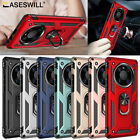 For Huawei P30 Pro P20 LITE P Smart Case Rugged Armor Ring Holder Stand Cover
