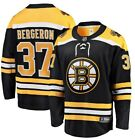 Patrice Bergeron #37 Boston Bruins Black & Yellow Adult Ice Hockey Jersey $65.0 USD on eBay