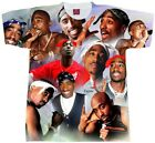 TUPAC Shirt Collage.... Adult and Youth Sizes Hip Hop Tees.T-shirt. RAP t shirt image